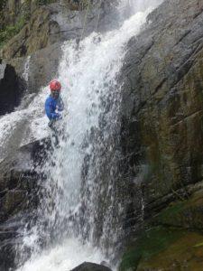 Wayanad Canyon canyoneering Rappelling