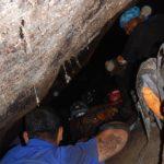 deep inside tiger pit caves