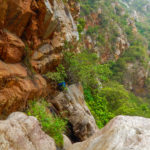 Nagalapuram Canyoneering traverse