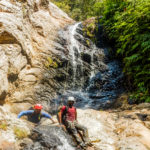 Nagalapuram rappelling the 5th Waterfall