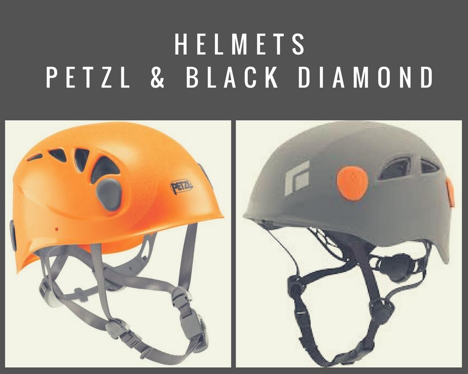 Petzl and Black Diamond Helmet Images