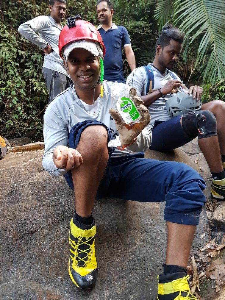 Seven and Half Cups ( Ezharakundu Falls)