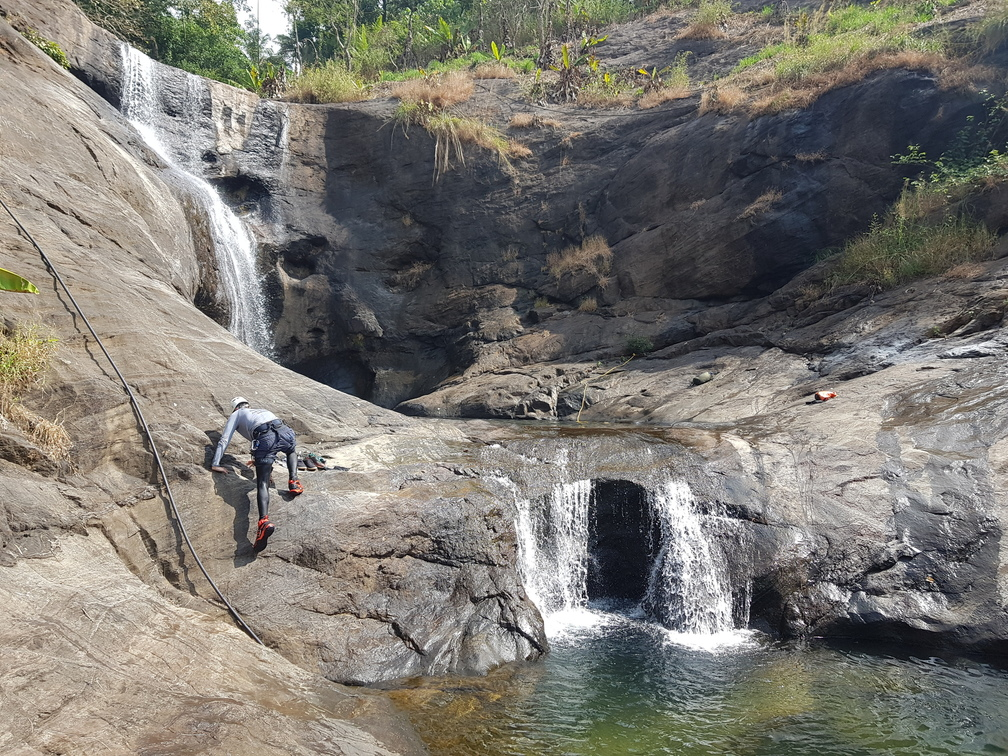 Seven and Half Cups ( Ezharakundu Falls)