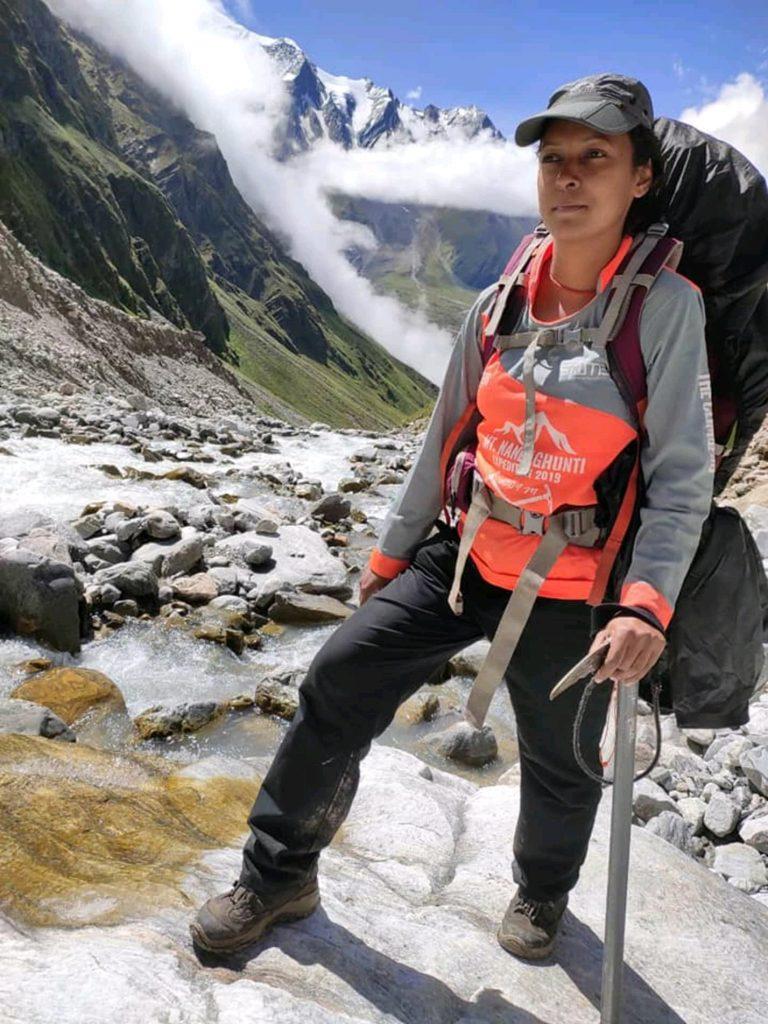 Enroute Mount Nun - Ashraya Prakash