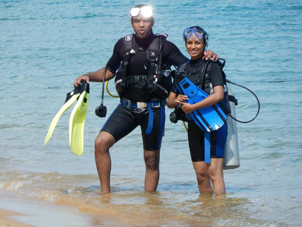 Scuba Diving - Ashraya Prakash