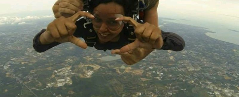 Sky Diving - Ashraya Prakash