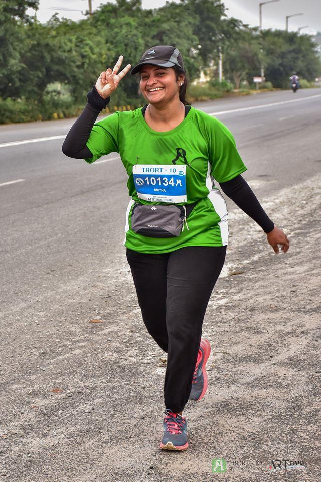 Smitha Jacob Marathon