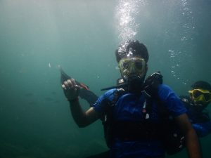 Sumit Pareek - Scuba Diving @ Netrani Island.