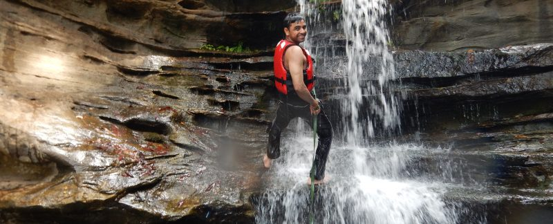 Sumit Pareek @ Staircase Canyon, Mangalore, India