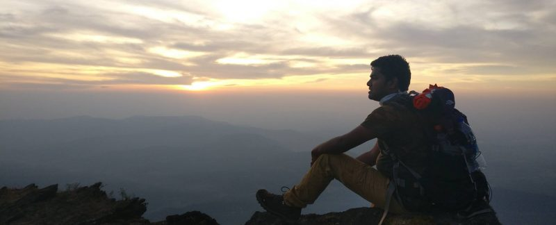 Praveen Deshmukh - Silhoutte on Summit