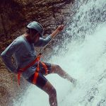Praveen Deshmukh - On Rappel, Nagalapuram West Canyon
