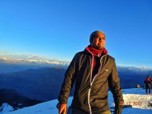 Praveen Deshmukh - On Summit - 13K ft