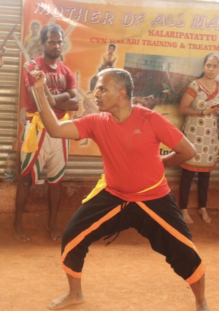 Arun-Kumar-practicing-kalari-martial-arts