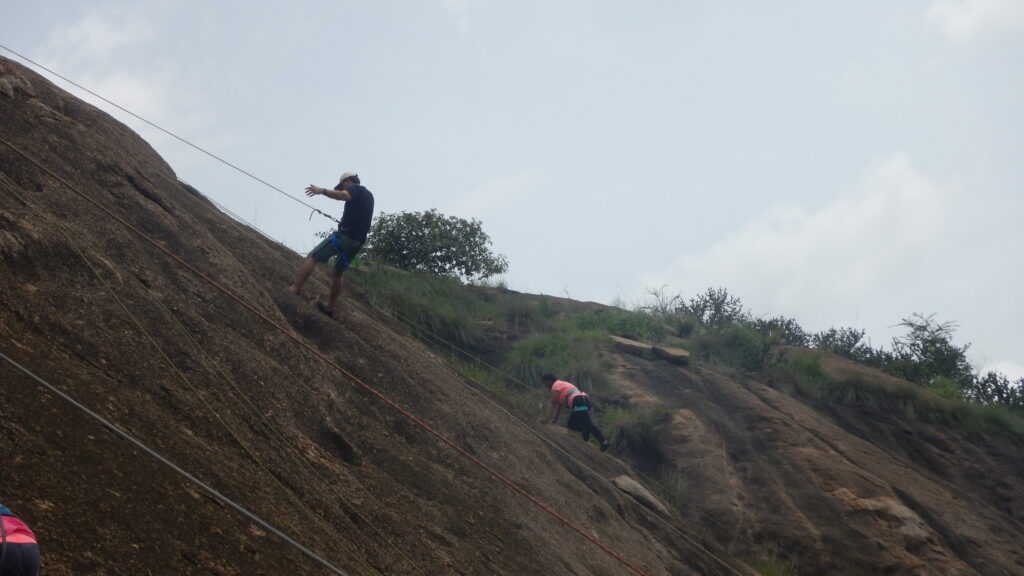 Rock Climbing training Course in India, Bangalore
