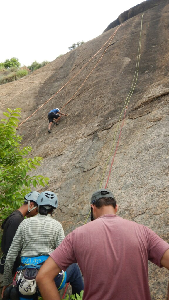 rock climbing training in bangalore, India